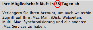 .mac in den Systemeinstellungen