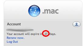 .mac auf der Webseite