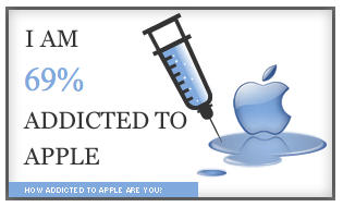 How Addicted to Apple Are You?